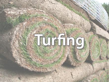 Grass Turfing in North Norfolk